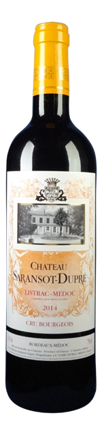 Chateau Saransot Dupre Listrac-Medoc 2014
