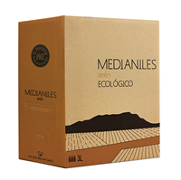 Medianiles Airen Vino Ecologico 3 liter Bag-in-box